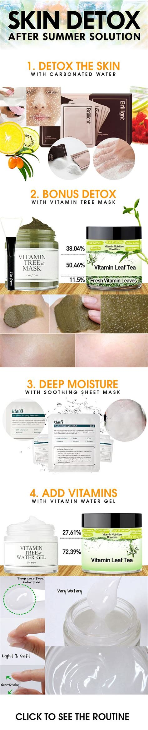 How Often To Do A Cleanse Detox Steamer by How To Detox Your Skin After Summer We