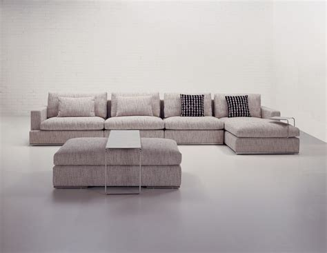fabric chaise sectional with ottoman furniture remarkable big sectional sofas design ideas