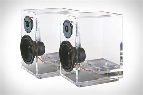 Fh007 Mini Speaker System Looks Cool Sounds Great by 5 Cool Transparent Speakers That Promise Clear