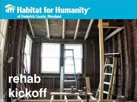 Of Maryland Detox by Nari Mid Maryland Rehab Kickoff Habitat For Humanity Of