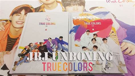 true colors album jbj 2nd mini album true colors unboxing
