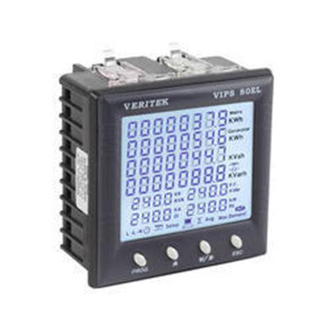 Power Meter Power Analyzer Energy Meter Voltmeter Alat Pengukur Daya digital panel meters multifunction meter and power