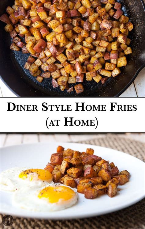 home fries on