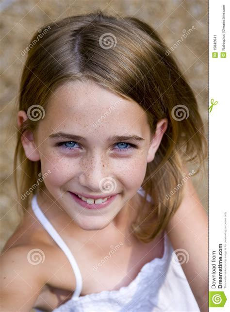 youngest looking women young tween girl looking up stock image image 15842641