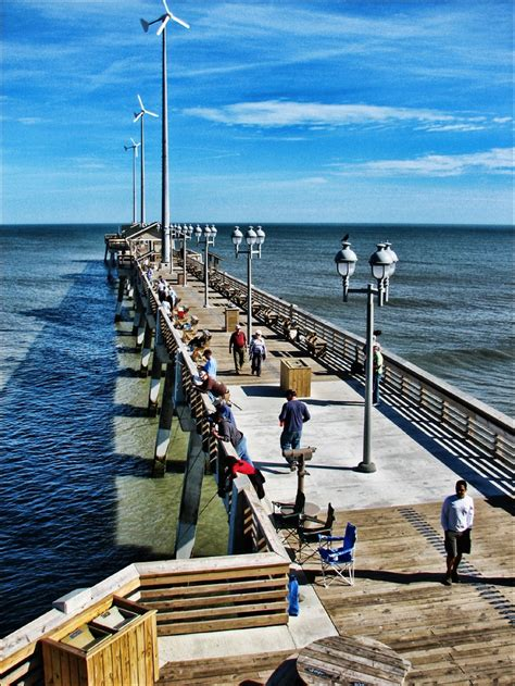 Nags Fishing Pier Cottages by Jennette S Pier Nags Nc Outer Banks Piers