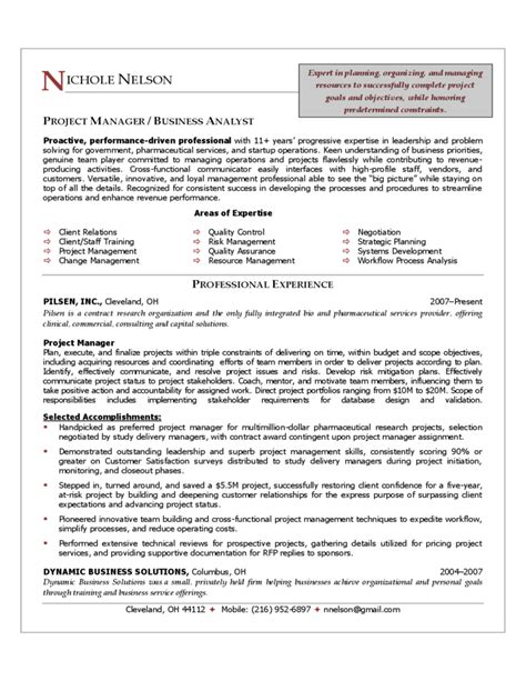 10 best best project manager resume templates samples images on