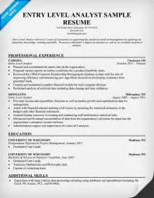 Business Analyst Resume Summary Exles by Sle Of Business Data Analyst Resume Resume Sles