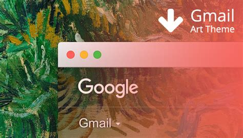 gmail themes art how to create a gmail art theme featuring van gogh useum