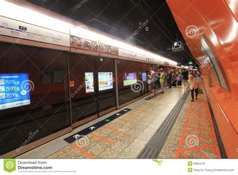 building layout pointe north station hong kong north point mtr station editorial photography