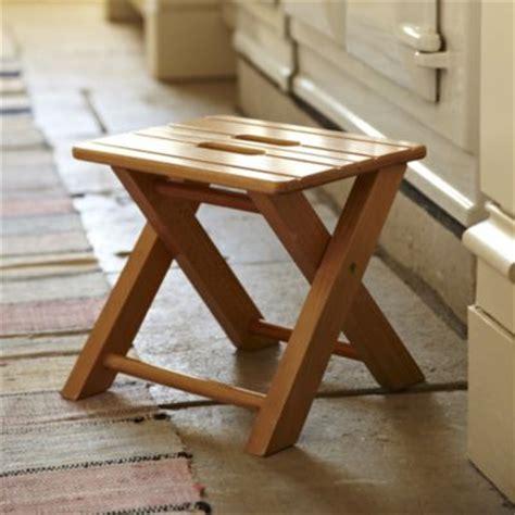 folding wooden step stool lakeland