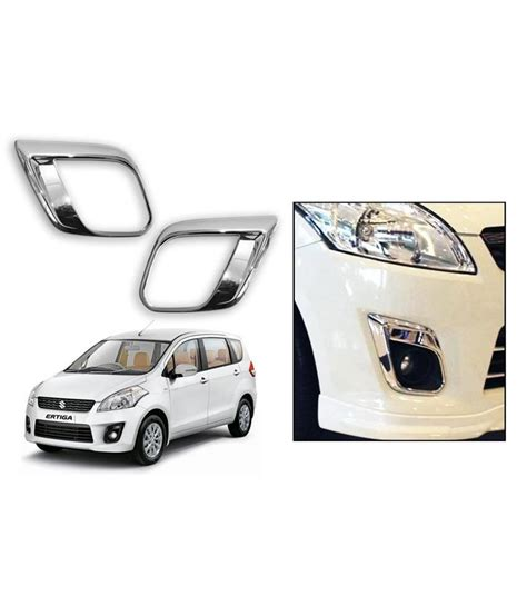 Accessories For Maruti Suzuki Ertiga Speedwav Maruti Suzuki Ertiga Chrome Fog L Rims Buy
