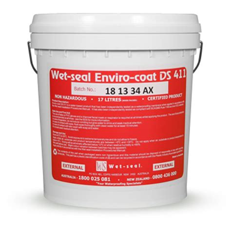 external deck area waterproofing enviro coat wet seal