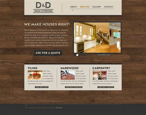 home interiors website vadimages design on a mission page 2