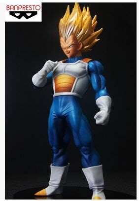 Pvc Saigan Vegeta Special 2 original banpresto model z vegeta figurine saiyan scultures big 6 special