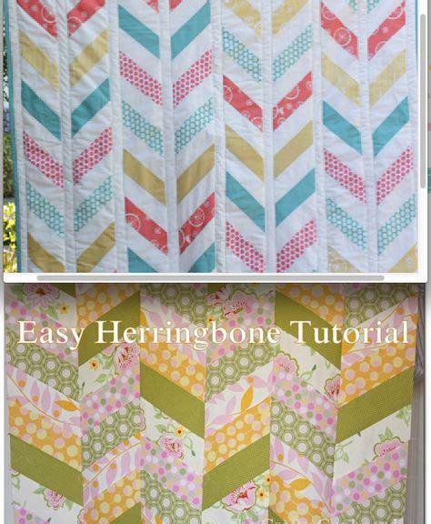 Herringbone Quilt Pattern by Meer Dan 1000 Idee 235 N Visgraat Quilt Instructie Op