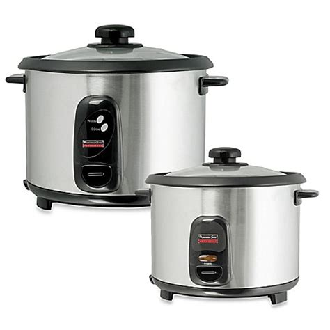 Rice Cooker Sanken Stainless Steel professional series stainless steel rice cooker bed bath