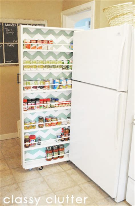 Diy Fridge Shelf by Diy Roll Out Canned Food Storage Shelf