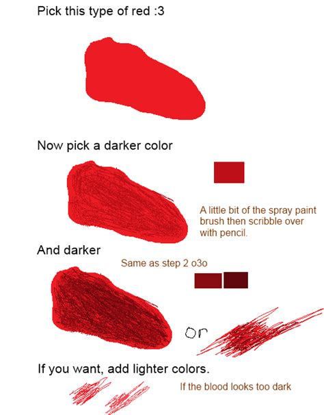blood paint blood tutorial for ms paint by screechthecat on deviantart