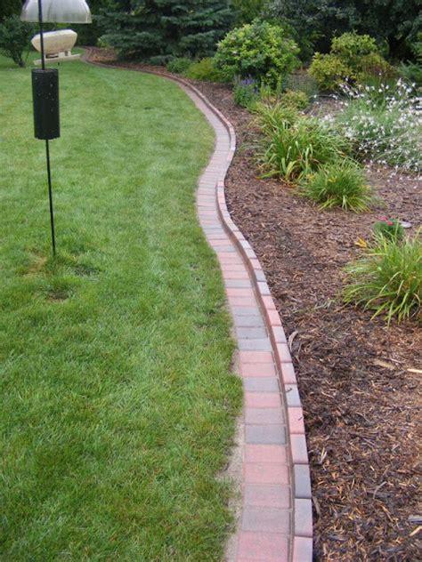 brick driveway image brick edging