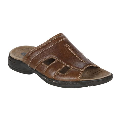 sears mens sandals gbx mens tropez brown clothing shoes jewelry