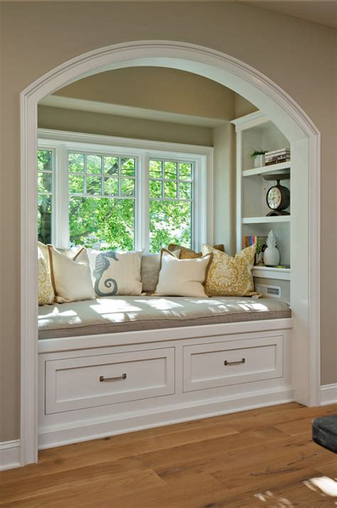 window nook interior paint color and color palette ideas with pictures