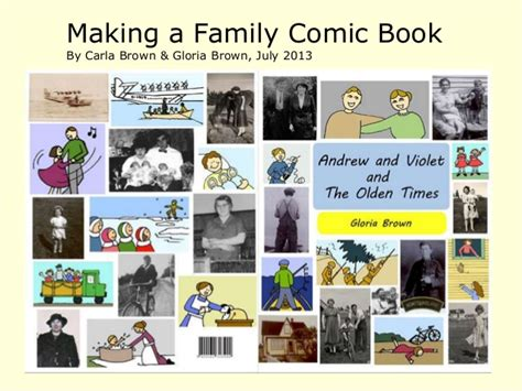 building a family books how to make a comic book about your family stories