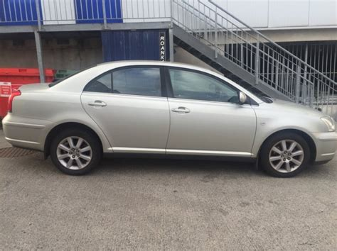 Toyota Avensis Petrol Toyota Avensis Saloon Petrol For Sale In Templeogue