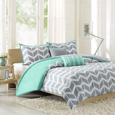 twin xl grey comforter twin twin xl comforter set 4 piece teal grey chevron print