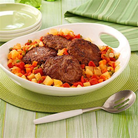 hamburger supper recipe taste of home