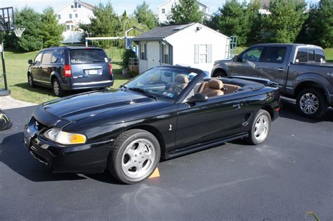 1995 mustang cobra hardtop convertible the mustang