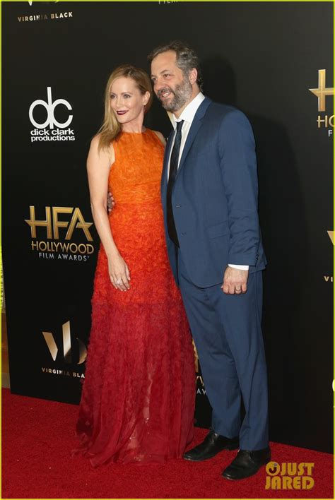 judd apatow next film leslie mann judd apatow arrive for hollywood film awards