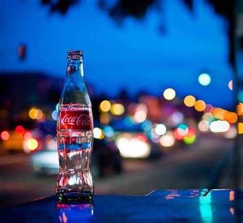 coke photography design inspiration bokeh photography