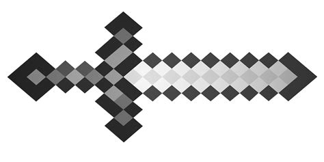 minecraft sword coloring pages free large images