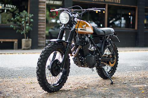 Honda Motorrad Xl 500 by Zandslee Honda Xl500 Pipeburn