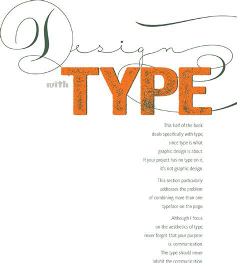 the non designers design book design with type the non designer s design book fourth edition book