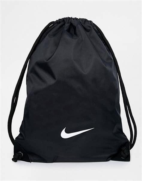 Nike Sportbeutel Schwarz by Nike Nike Sportbeutel In Schwarz