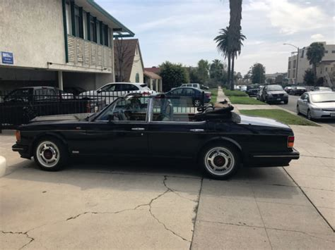 custom bentley 4 door 1990 bentley turbo custom four door convertible for sale