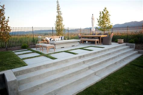 pictures of concrete patios concrete patio design ideas and cost landscaping network