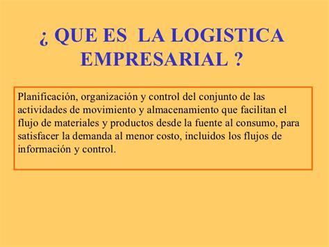que es layout logistica logistica empresarial