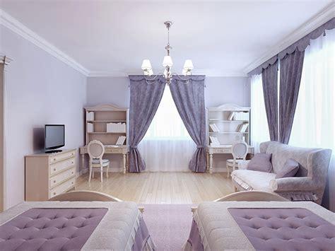 camere da letto lilla tende per da letto tante idee per grandi e piccini