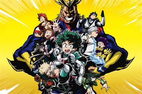 my hero academia 4 8491460950 my hero academia is shonen perfection hypebeast