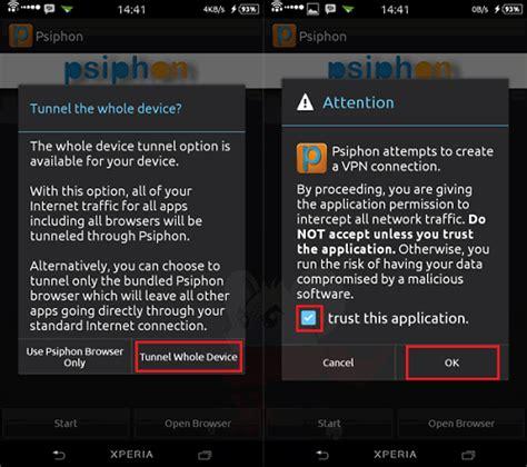 tips agar psiphon telko sel jadi mudah connect trik internet gratis di android dengan aplikasi psiphon