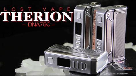 Finder 75c Powered By Evolv Dna75c Mod new therion dna75c by lost vape and powered by evolv temp mod review