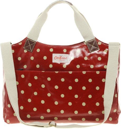 Tas Cathkidston Cath18 Backpack Bag cath kidston laptop business bag in spotredberry lyst