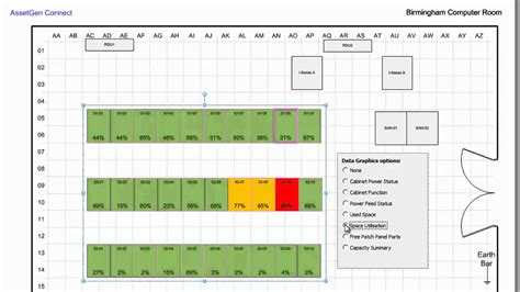 visio server room floor plan automating visio data center floor plans with assetgen