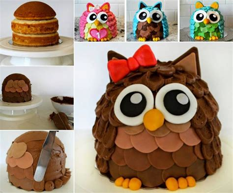 how to make a cake how to make an owl cake pictures photos and images for