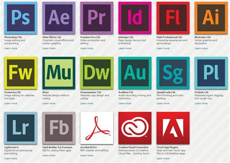 adobe softwares adobe actualiza la mayor 237 a de aplicaciones en creative