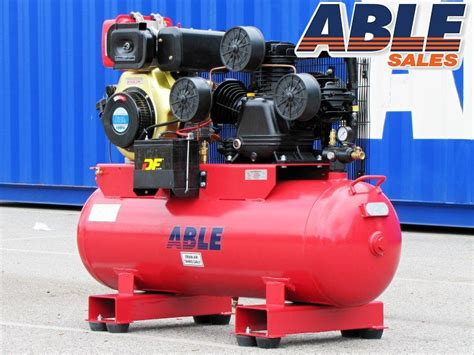 diesel air compressor 11hp 160lt 125psi 42cfm