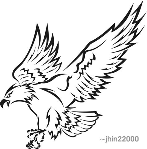 tribal eagle 2 by jhin22000 on deviantart