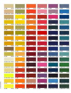 und colors color charts trojan powder coating